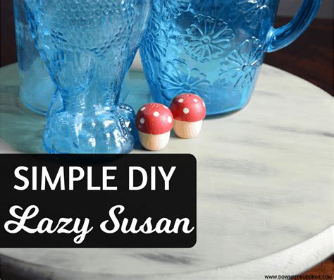 Easy Diy Lazy Susan