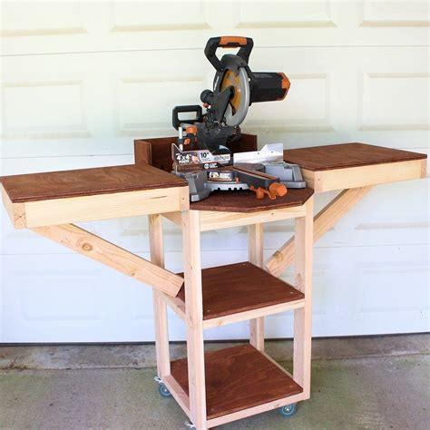Easy Diy Miter Saw Stand
