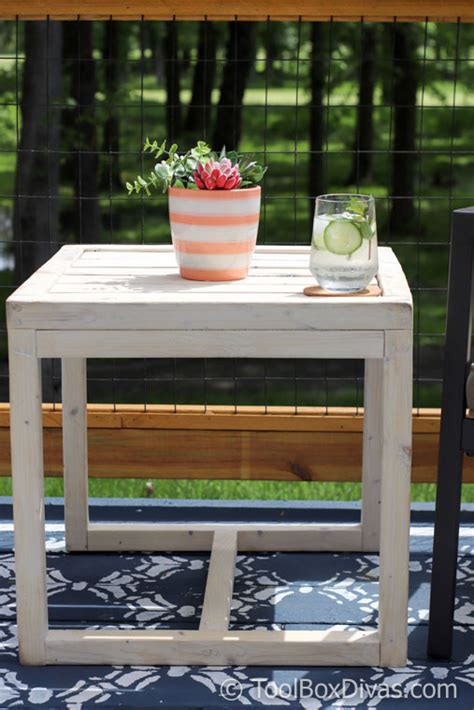 Easy Diy Outdoor Side Table