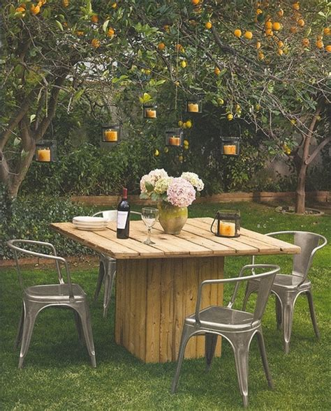 Easy Diy Outdoor Table And Chair Ideas