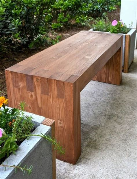 Easy Diy Patio Bench