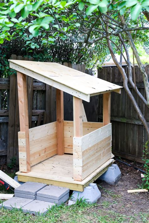 Easy Diy Playhouse Frame