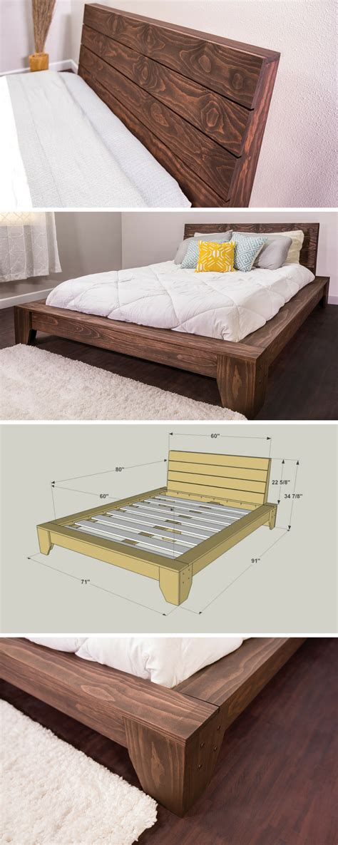 Easy Diy Queen Platform Bed