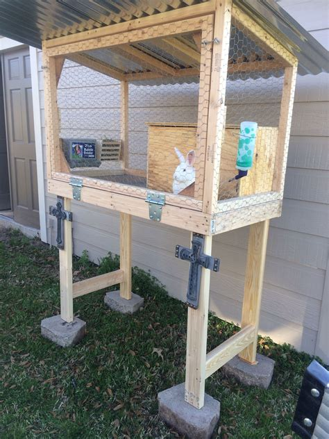Easy Diy Rabbit Cage Outside