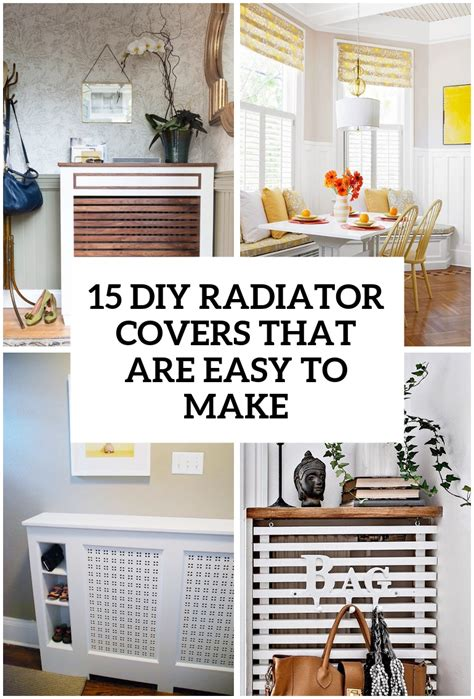 Easy Diy Radiator Covers