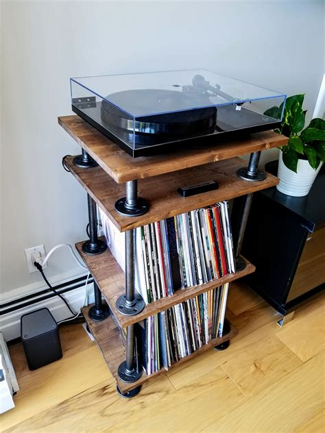 Easy Diy Record Player Stand