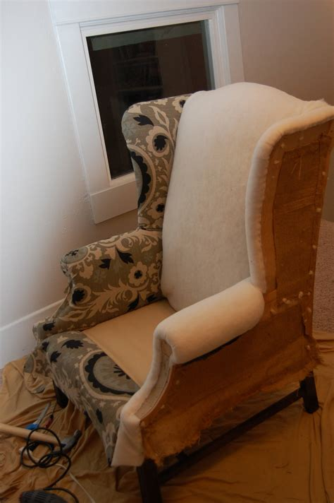 Easy Diy Reupholster Wingback Chair
