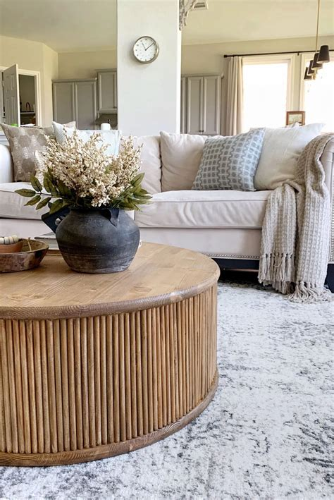 Easy Diy Round Coffee Table