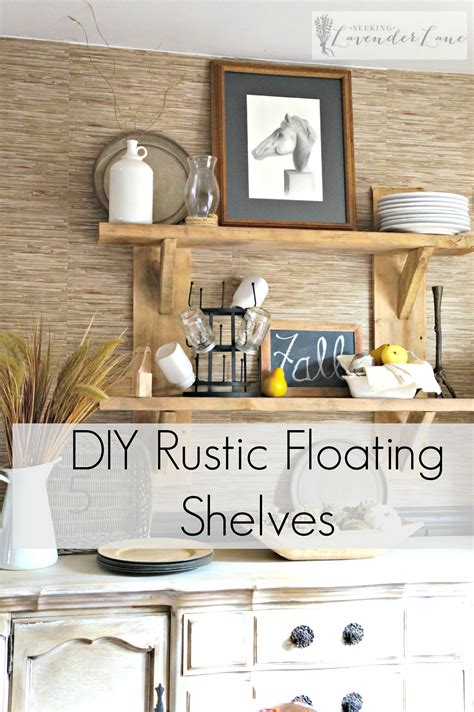 Easy Diy Rustic Floating Shelves