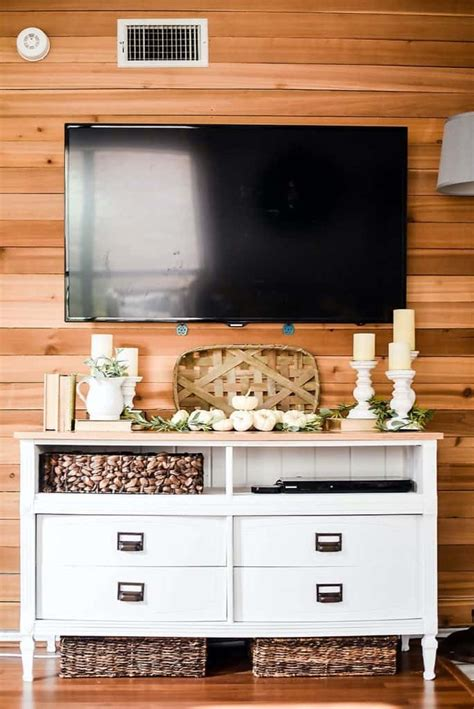 Easy Diy Rustic Tv Stand