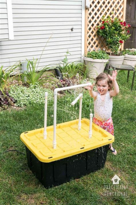 Easy Diy Sand And Water Table