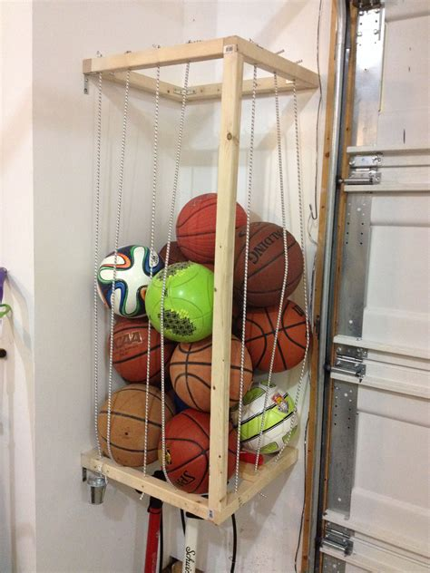 Easy Diy Sports Ball Display Stand