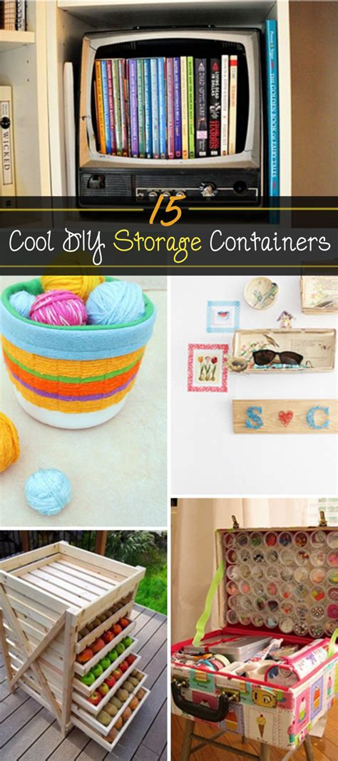 Easy Diy Storage Containers