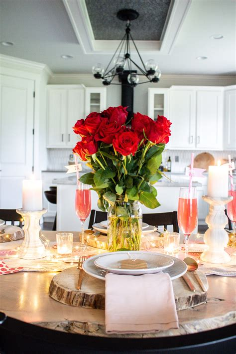 Easy Diy Table Decor Valentines Day