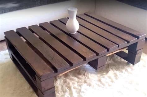 Easy Diy Table From Pallets