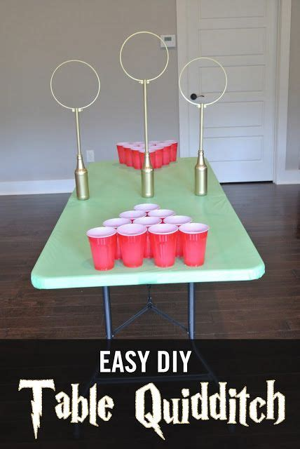 Easy Diy Table Quidditch Pong