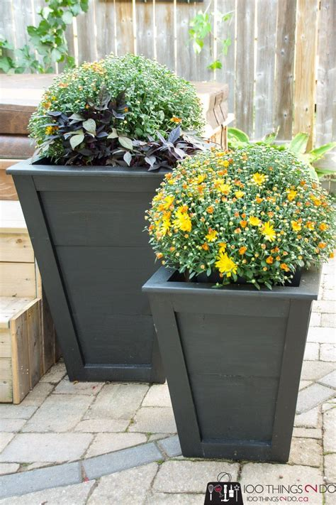 Easy Diy Tall Planter