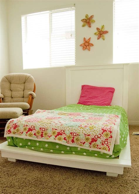 Easy Diy Twin Platform Bed
