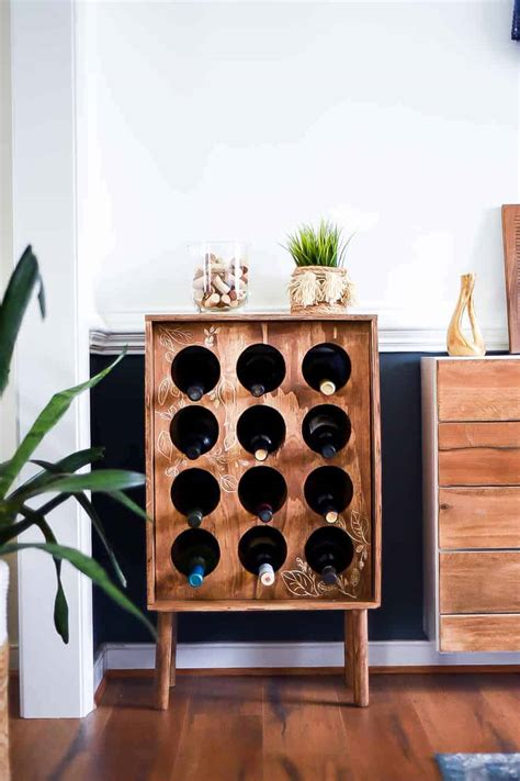 Easy Diy Wine Storage