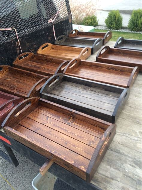 Easy Diy Wooden Tray Plans