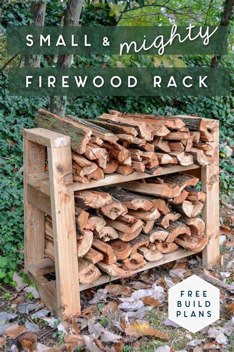 Easy Firewood Rack Plans