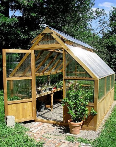 Easy Greenhouse Building Plans