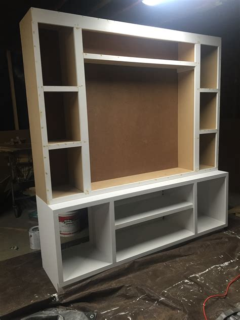 Easy Homemade Entertainment Center
