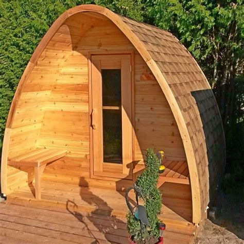Easy Outdoor Sauna Plans