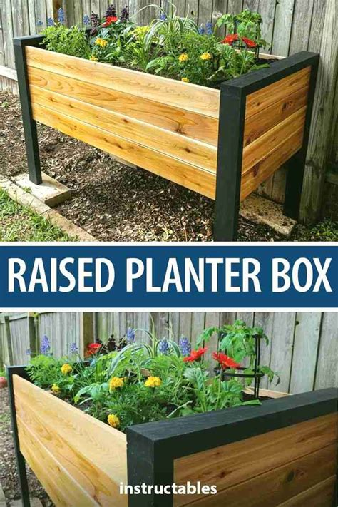 Easy Planter Box Instructions