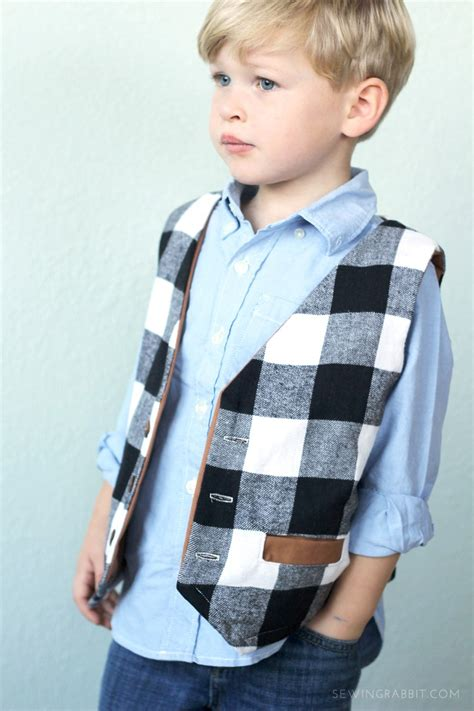 Easy Sewing Patterns For Toddler Boys Vests