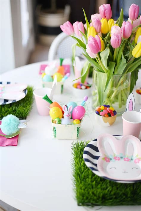 Easy Table Decorations For Easter