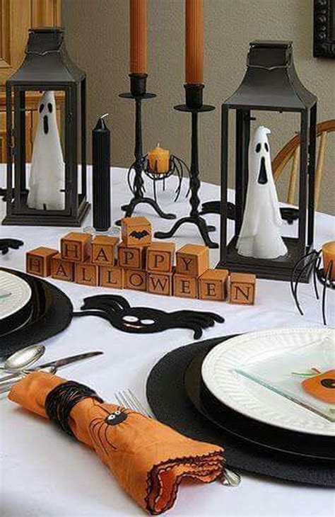 Easy Table Decorations For Halloween