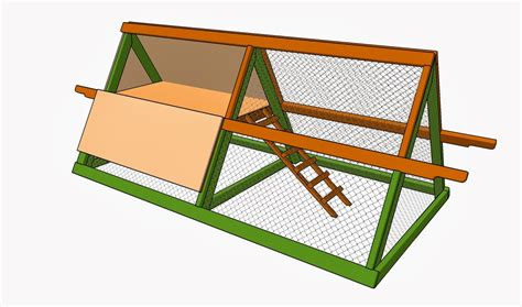 Easy To Build A Frame Chicken Coop Plans Free