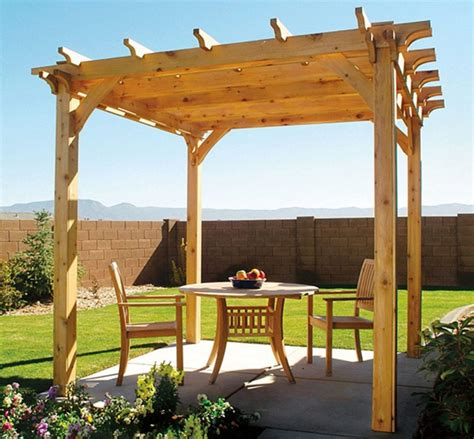 Easy To Build Pergola Plans