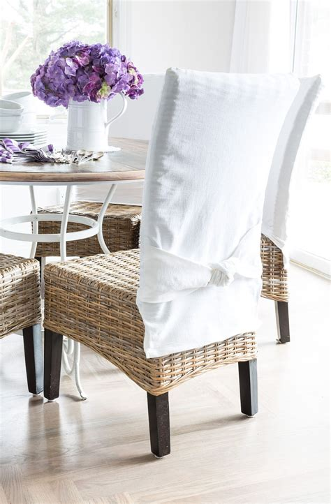 Easy To Make Dining Room Chair Slipcovers