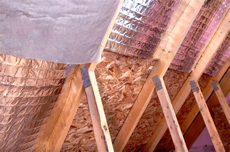 Easy Way To Insulate Roof Rafters