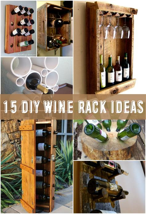 Easy Wine Rack Diy Designs
