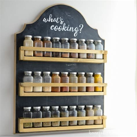 Easy Wooden Spice Rack Plans