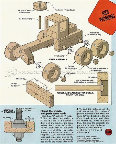 Easy Wooden Toy Plans Free
