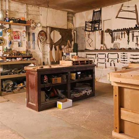 Easy Woodshop Plans For Garage