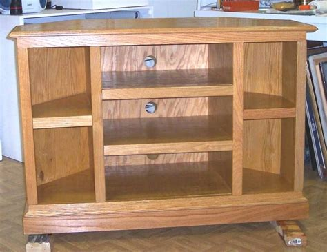 Easy Woodworking Woodworking Plans Corner Tv Stand