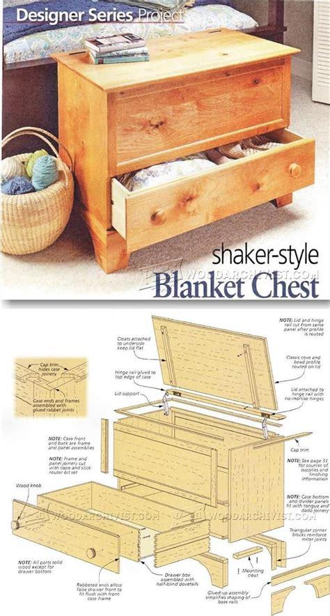 Easy-Blanket-Chest-Plans