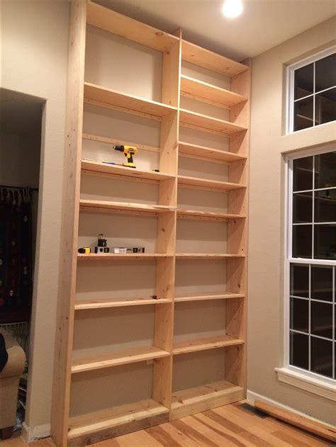 Easy-Built-In-Shelves-Diy