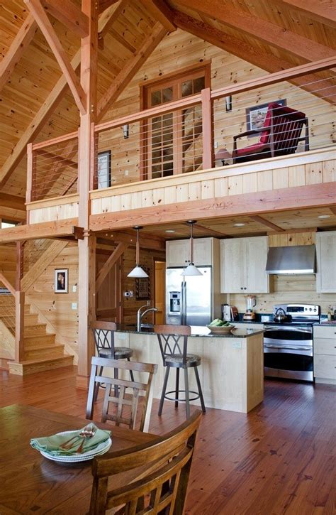 Easy-Cabin-Plans-With-Loft