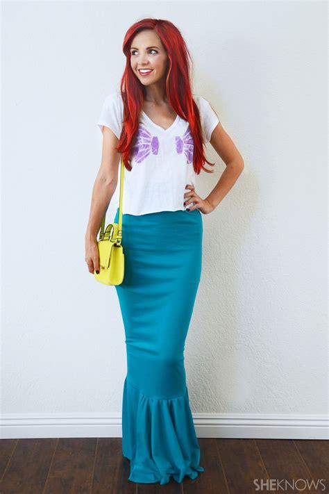 Easy-Diy-Ariel-Costume