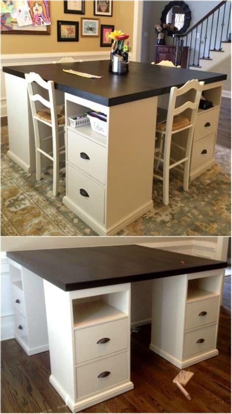Easy-Diy-Craft-Desk