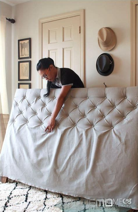 Easy-Diy-Diamond-Tufted-Headboard