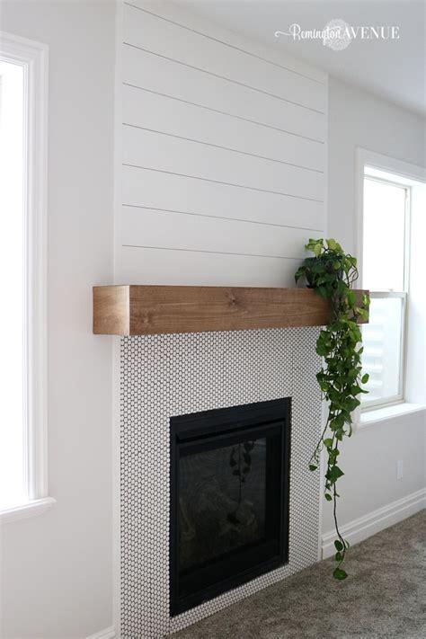 Easy-Diy-Wood-Mantel
