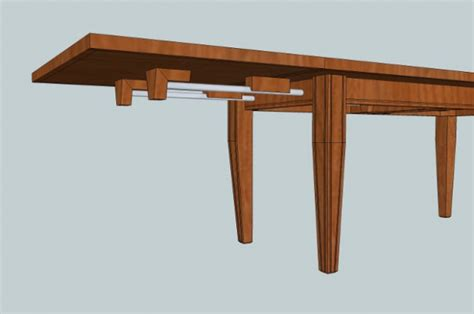 Easy-Extendable-Dining-Table-Plans
