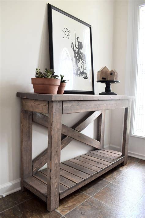 Easy-Farmhouse-Console-Table
